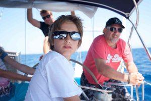 segeln mit kind