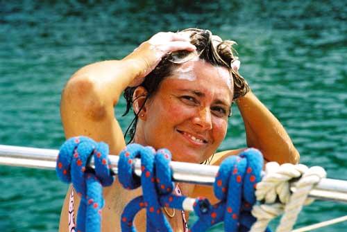 So Segeln Sie in Ihrem Segelurlaub auf Korfu. Im Ionischen Meer mitegeln.