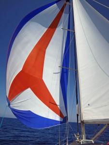 segeln mit blister
