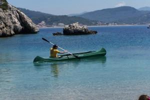 Kanu Urlaub Korfu