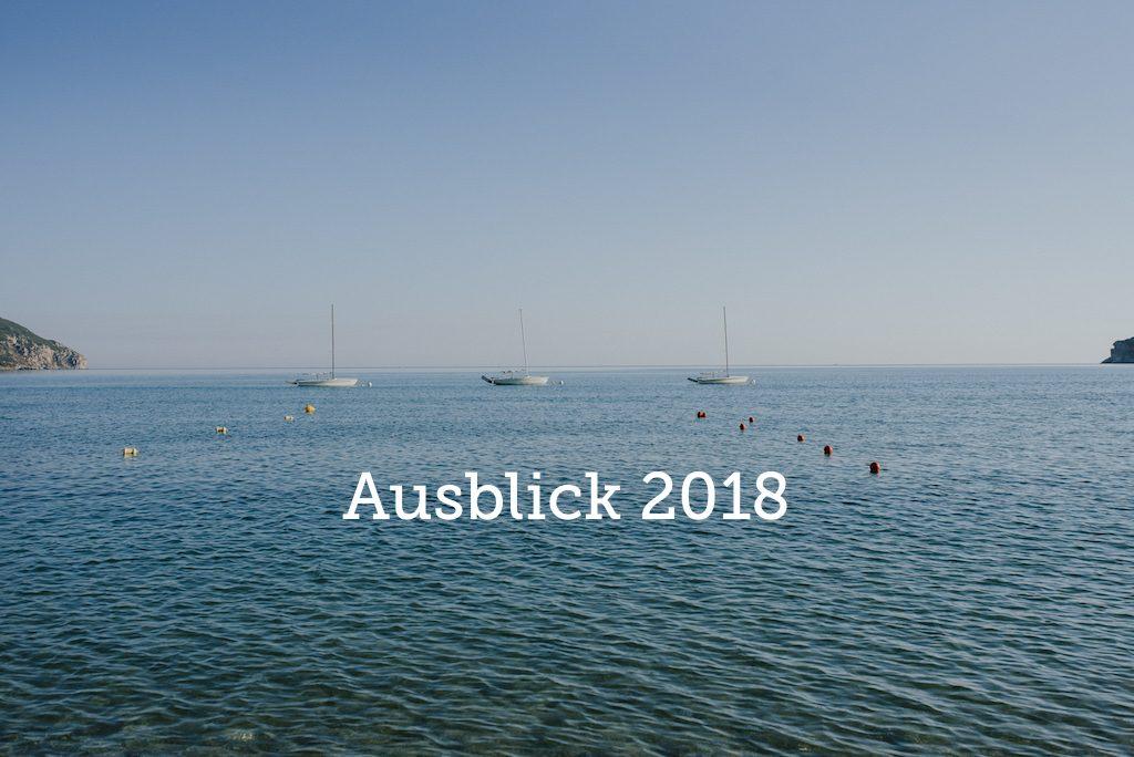 Korfu Urlaub 2018 Ausblick