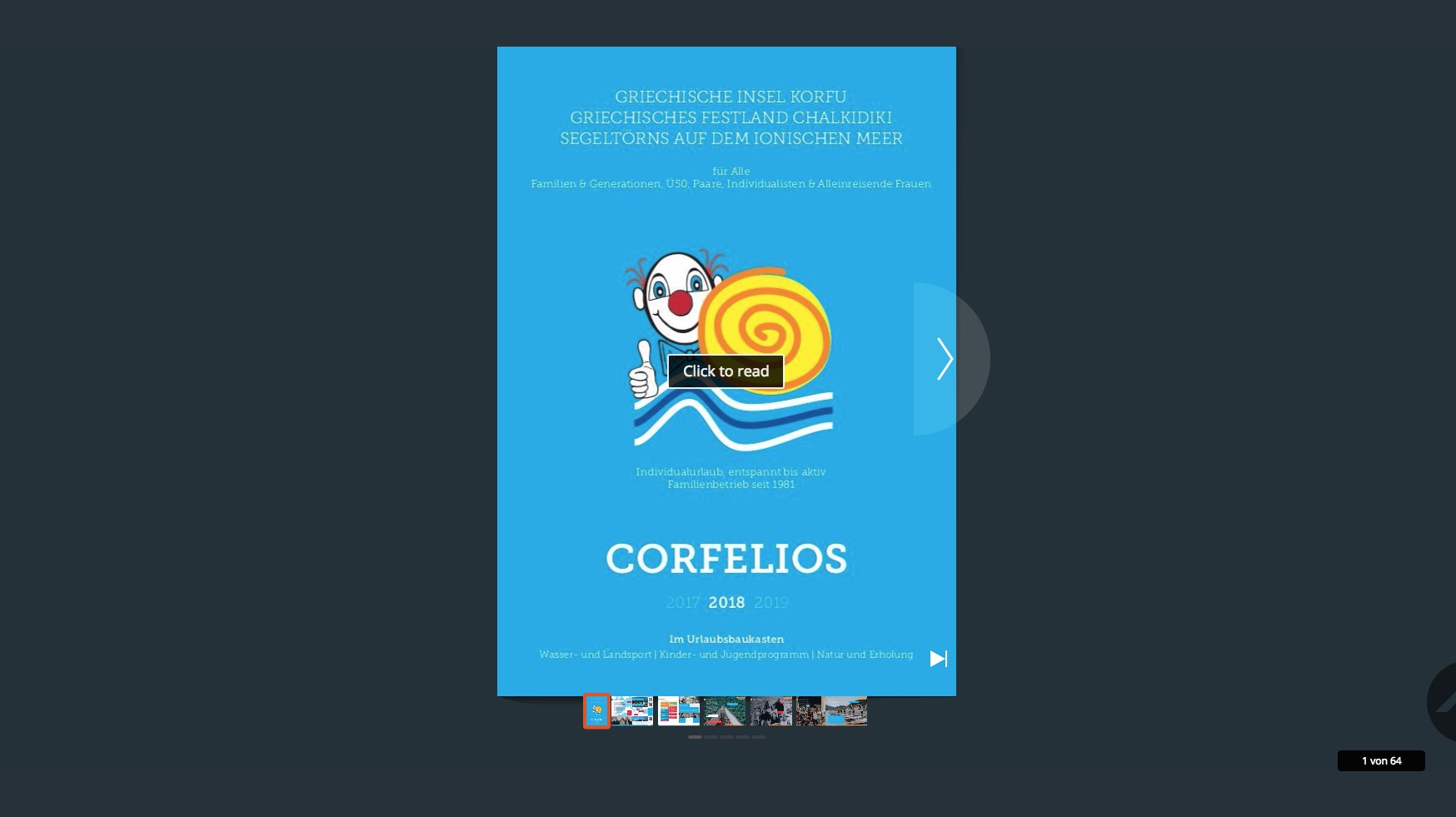 Corfelios Online Blätterkatalog 2018-2019