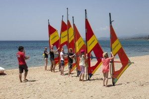 windsurfschule sithonia
