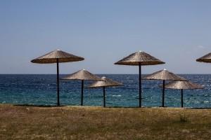 Bühne frei zum sonnenbaden auf Sithonia