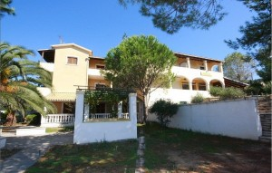 Frontansicht Haus Helena in Agios Georgios