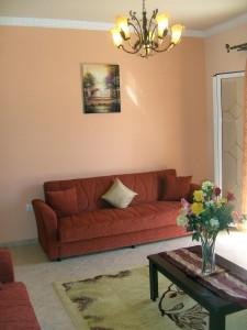 Wohnzimmer 1 Haus Angeliki & Irini
