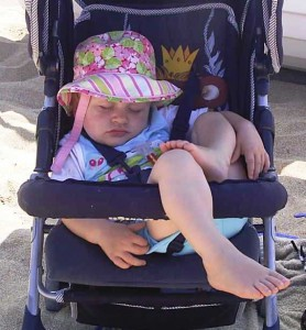 Baby im Hotel Lily Ann Beach