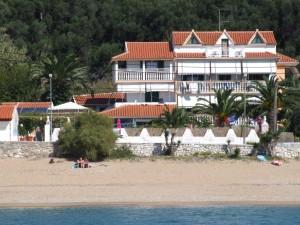 Nur wenige Meter zwischen dem Meer und Haus Magdalena
