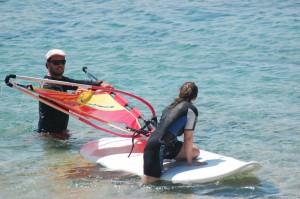 Surfen auf Chalkidiki Sithonia