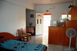 Integrierte Küche im Zwei-Zimmer-Appartement Magda