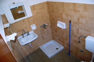 Badezimmerbeispiel Haus Vasili