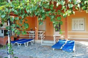 Lädt zum entspannen ein, das Ferienhaus Eleni in Agios Georgios
