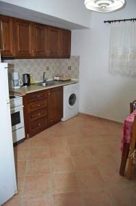 Küchenbereich im Ferienhaus Eleni in Agios Georgios