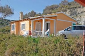 Außenansicht des Ferienhauses Nikolas auf Korfu