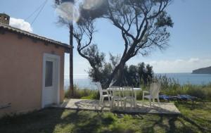 Ferienhaus Nikolas mit Meerblick auf Agios Georgios