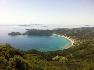 Glasklarer Blick auf Korfu und Mee(h)r