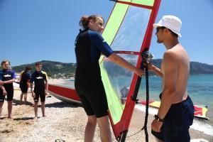 windsurfen korfu