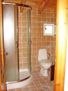Badezimmer im Ferienhaus Jannis auf Korfu