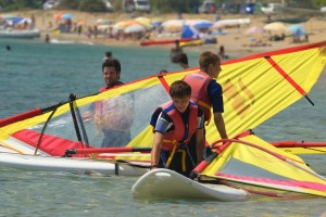 Windsurfkurs in Agios Georgios auf Korfu