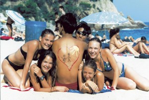 Jugendliche auf Korfu