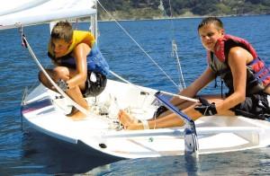 Segeln für Youngsters und Jugendliche auf Korfu