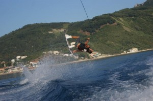 Wakeboarden in Agios Georgios