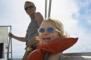 Kinder im Griechenland Urlaub