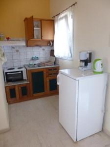 Küchenbeispiel des Ein-Zimmer-Appartements Stefanos auf Korfu