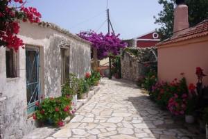 Schnuckelige, griechische Dörfer