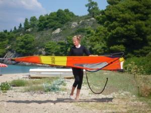 Surfen im Griechenland Urlaub