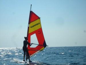 Surfen auf Sithonia