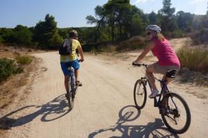 Radfahren im Griechenland Urlaub