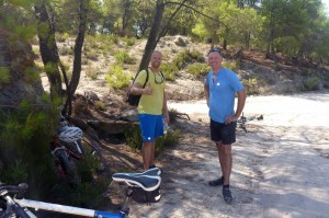 Mountainbiken auf Chalkidiki Sithonia