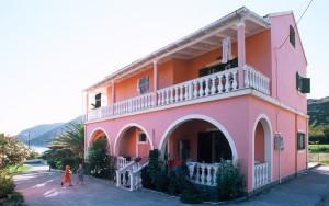 Appartementhaus Stefanos auf Korfu