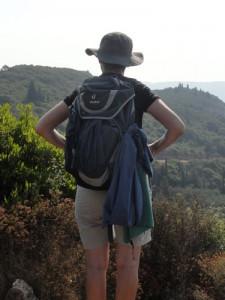 Wandern im Griechenland Urlaub