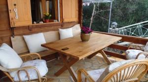 Außenterrasse Ferienhaus Xila