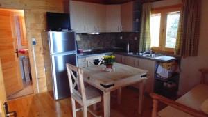 Küchen- und Essbereich Ferienhaus Xila