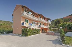 Appartements im Haus Dimitri auf Korfu