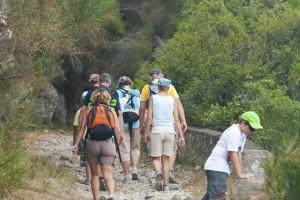 Wanderung Griechenland Insel