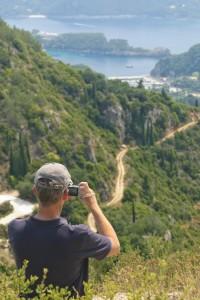 Wanderung  Korfu