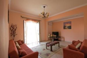 Wohnzimmer Haus Angeliki & Irini