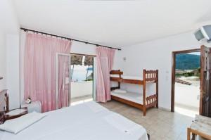 Beispiel des 4-Bett-Zimmers im Haus Magdalena