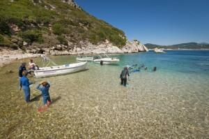 Schnorcheln Griechenland Korfu