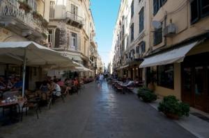 Venezianischer Flair in Korfu-Stadt