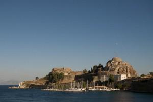 """Die """"neue Festung"""" in Korfu Stadt"""