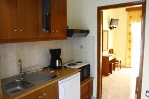 Küchenzeile im Appartement Katherina auf Korfu