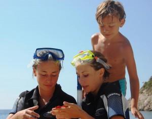 Kinderbetreuung auf Chalkidiki Sithonia