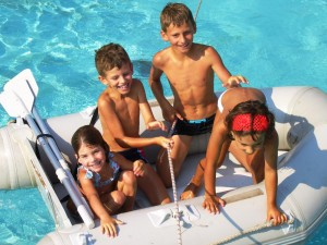 Urlaub Kinder Agios Georgios Korfu