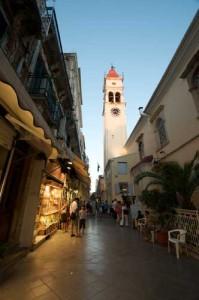 Kirchturm Korfu